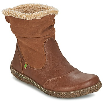 Shoes Női Csizmák El Naturalista NIDO Barna