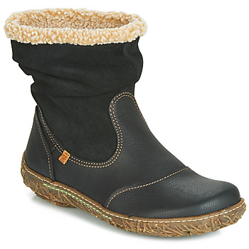 Cipők Női Csizmák El Naturalista NIDO Fekete