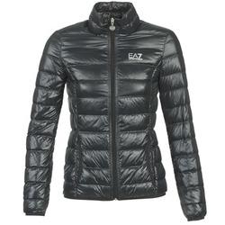 material Női Steppelt kabátok Emporio Armani EA7 OPIAKO Fekete