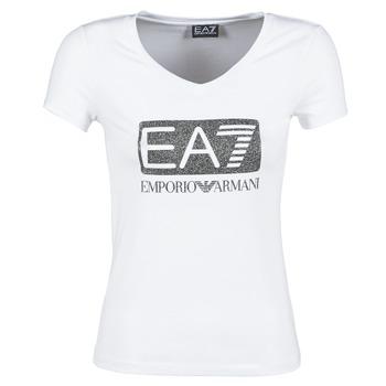 Ruhák Női Rövid ujjú pólók Emporio Armani EA7 FOUNAROLA Fehér