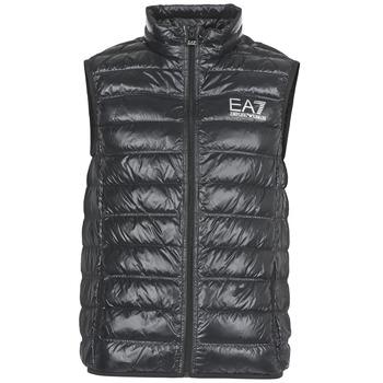 Ruhák Férfi Steppelt kabátok Emporio Armani EA7 ONAFRATO Fekete