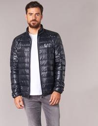 Ruhák Férfi Steppelt kabátok Emporio Armani EA7 JAFOUKARO Fekete