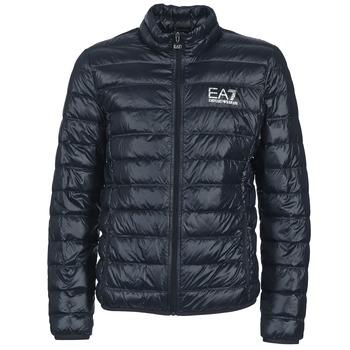 material Férfi Steppelt kabátok Emporio Armani EA7 JAFOUKARO Tengerész