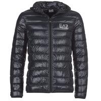 Ruhák Férfi Steppelt kabátok Emporio Armani EA7 ANDOURALO Fekete