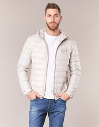 Ruhák Férfi Steppelt kabátok Emporio Armani EA7 ANDOURALO Fehér
