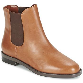 Cipők Női Csizmák Ralph Lauren BELVA Konyak
