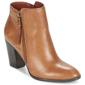 Shoes Női Bokacsizmák Ralph Lauren FAHARI Konyak