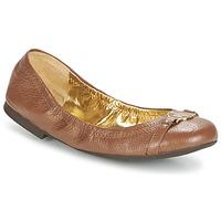 Cipők Női Balerina cipők / babák Ralph Lauren BETHENNY Konyak