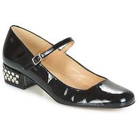 Cipők Női Balerina cipők / babák Betty London FOTUNOU Fekete