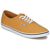 Cipők Rövid szárú edzőcipők Vans AUTHENTIC LO PRO Mustár sárga / Igaz / Fehér