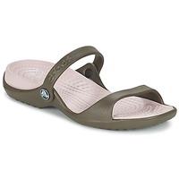 Shoes Női Szandálok / Saruk Crocs Cleo Csokoládé / Pamut / Cukorka
