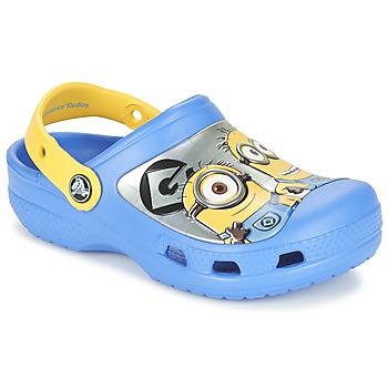 Cipők Gyerek Klumpák Crocs CC Minions Clog Kék / Citromsárga