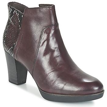 Shoes Női Bokacsizmák Tamaris VICHA Bordó