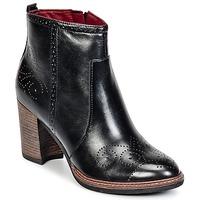 Shoes Női Bokacsizmák Tamaris KOLYMA Fekete