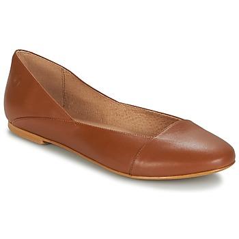 Cipők Női Balerina cipők / babák Casual Attitude TOBALO Barna