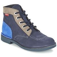 Cipők Női Csizmák Kickers KICK COL Tengerész