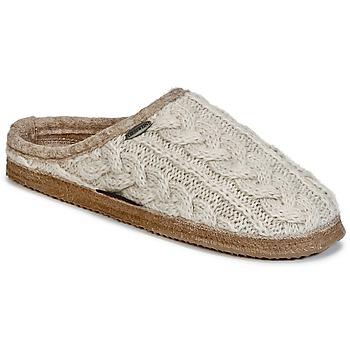 Cipők Női Mamuszok Giesswein NEUDAU Bézs