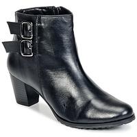 Cipők Női Bokacsizmák Balsamik GOMALO Fekete