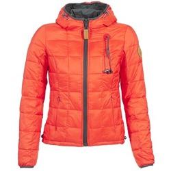 Ruhák Női Steppelt kabátok 80DB Original NICKI Szürke / Piros
