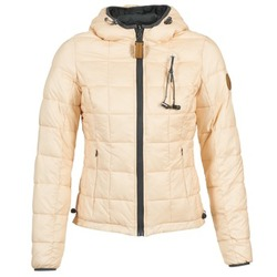 material Női Steppelt kabátok 80DB Original NICKI Bézs / Rózsaszín