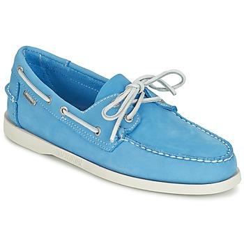 Cipők Férfi Mokkaszínek Sebago DOCKSIDES Kék