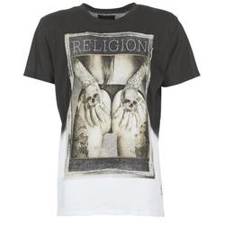 Ruhák Férfi Rövid ujjú pólók Religion GRABBING Fehér / Fekete