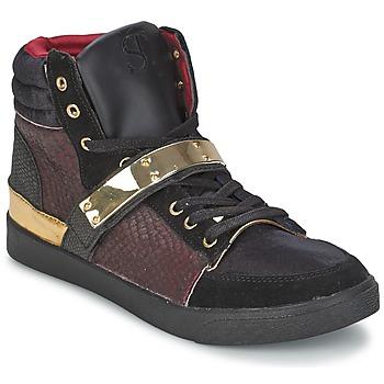 Cipők Női Magas szárú edzőcipők SuperTrash GOLDY Bordó