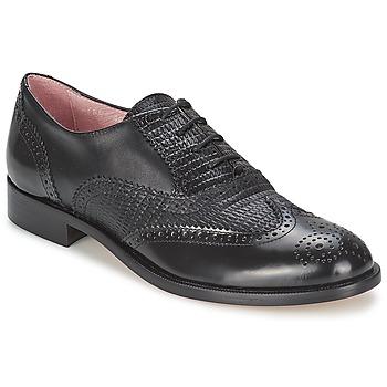 Cipők Női Bokacipők Elia B SPECTATOR Fekete