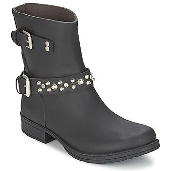 Cipők Női Csizmák Colors of California JAMBO Fekete