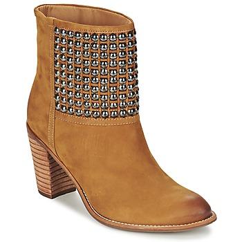 Cipők Női Bokacsizmák Dumond GUOUZI Barna