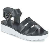 Cipők Női Szandálok / Saruk Kickers CLIPPER Fekete