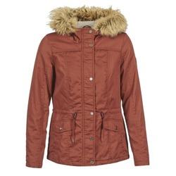 material Női Parka kabátok Only KATE Bordó