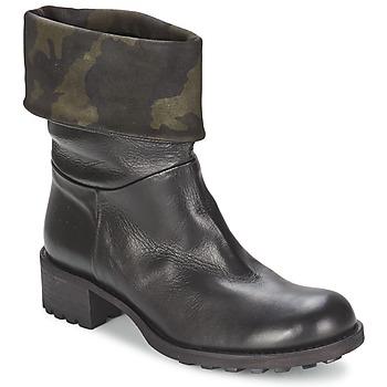 Cipők Női Csizmák JFK TARZAN Fekete