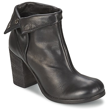 Cipők Női Bokacsizmák JFK GUANTO Fekete