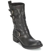 Cipők Női Csizmák JFK GUANTP Fekete