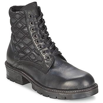 Cipők Női Csizmák Strategia BOMBER Fekete