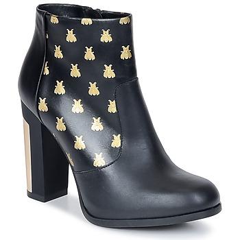 Cipők Női Bokacsizmák Miista ALAYNA Fekete
