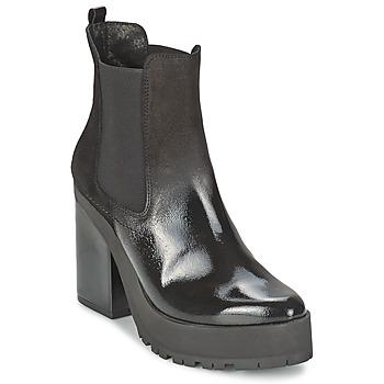 Cipők Női Bokacsizmák Miista YOLANDA Fekete