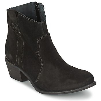 Cipők Női Bokacsizmák Shoe Biz BROPE Fekete