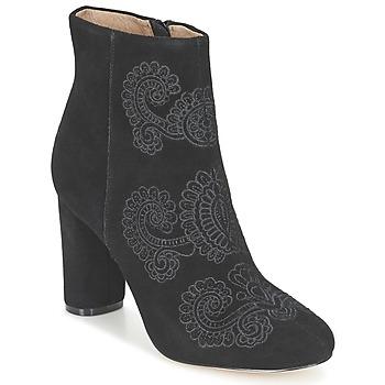 Cipők Női Bokacsizmák Bocage ELLIOT Fekete
