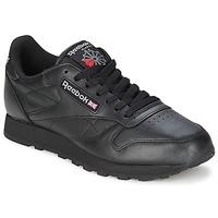 Shoes Rövid szárú edzőcipők Reebok Classic CL LTHR Fekete