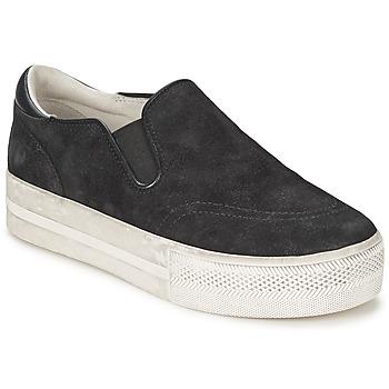 Cipők Női Belebújós cipők Ash JUNGLE Fekete