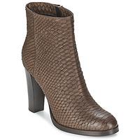Cipők Női Bokacsizmák Alberto Gozzi MADRID T MORO Barna