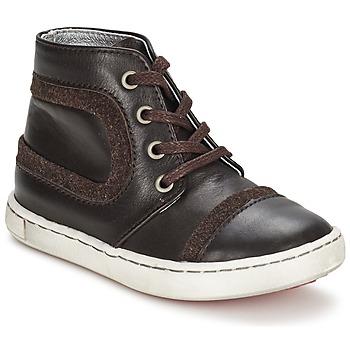 Shoes Fiú Csizmák Tartine Et Chocolat JR URBAIN Csokoládé