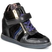 Cipők Női Magas szárú edzőcipők Serafini LEXINGTON Fekete