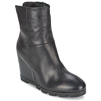 Cipők Női Bokacsizmák OXS IGLOO Fekete
