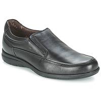 Cipők Férfi Mokkaszínek Fluchos LUCA Fekete