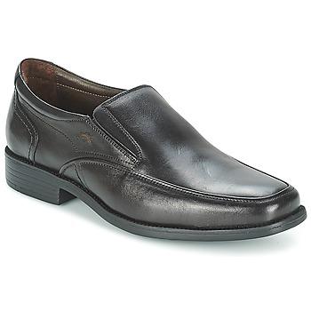 Cipők Férfi Mokkaszínek Fluchos RAPHAEL Fekete