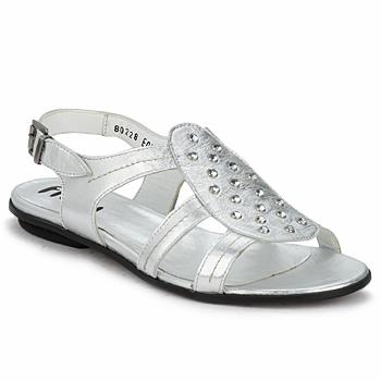 Cipők Női Szandálok / Saruk Fidji BARRETA Ezüst