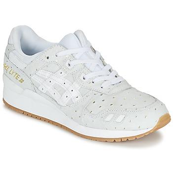 Shoes Női Rövid szárú edzőcipők Asics GEL-LYTE III PACK SAINT VALENTIN W Fehér / Arany